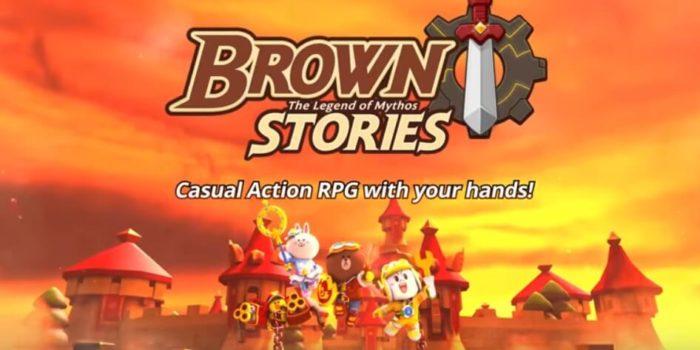 LINE BROWN STORIES взлом