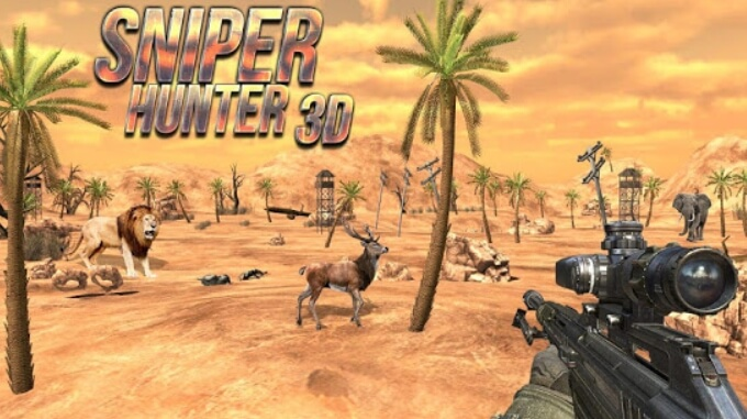Hunting Sniper 3D взлом