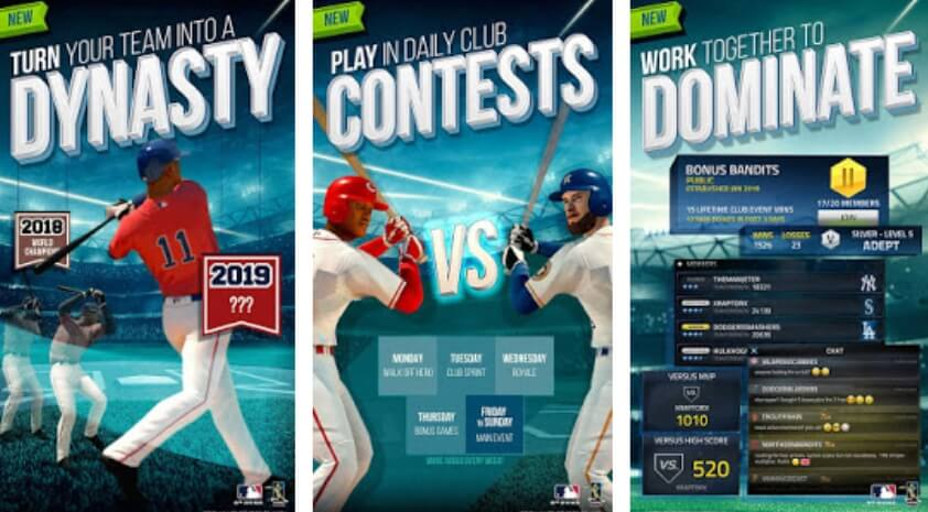 MLB Tap Sports Baseball 2019 деньги