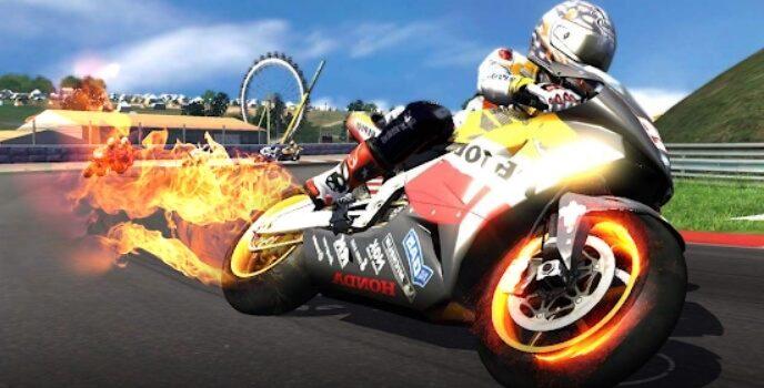 Мотоциклетные гонки взлом