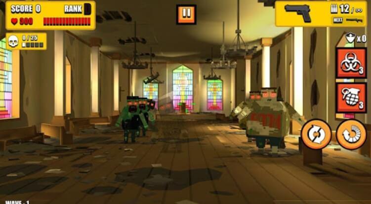 Pixel Zombie Hunter секреты