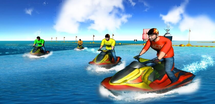 Power Boat Stunt Racing читы