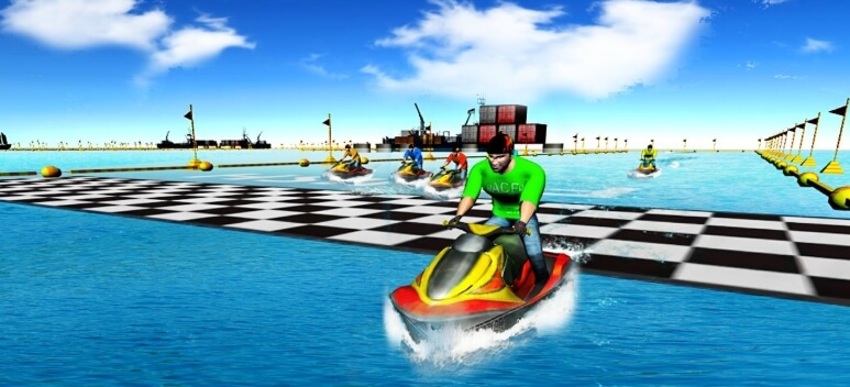 Power Boat Stunt Racing коды
