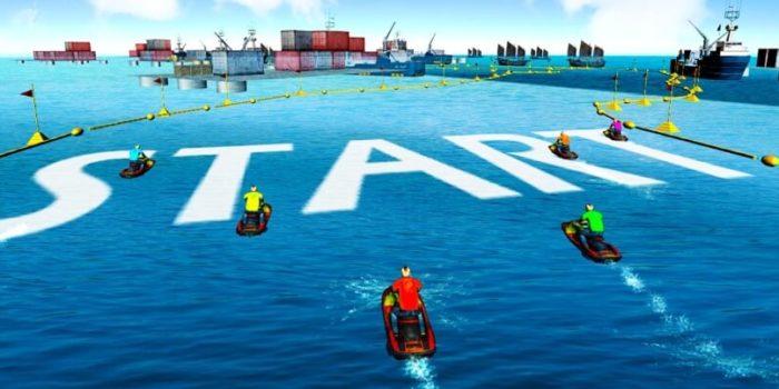 Power Boat Stunt Racing взлом
