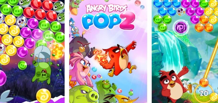 Angry Birds POP 2 hack