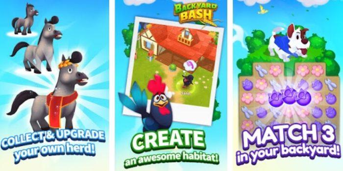 Backyard Bash: New Match 3 Pet Game читы