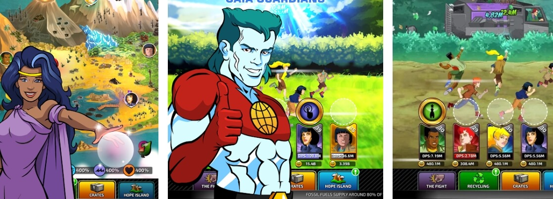 Captain Planet: Gaia Guardians mod