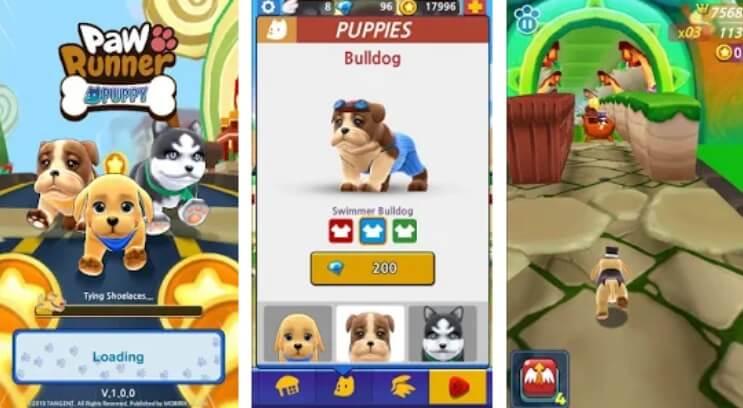 Paw Runner : Puppy коды