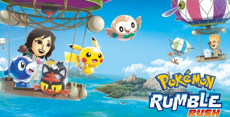 Pokemon Rumble Rush взлом