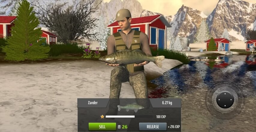 Professional Fishing секреты