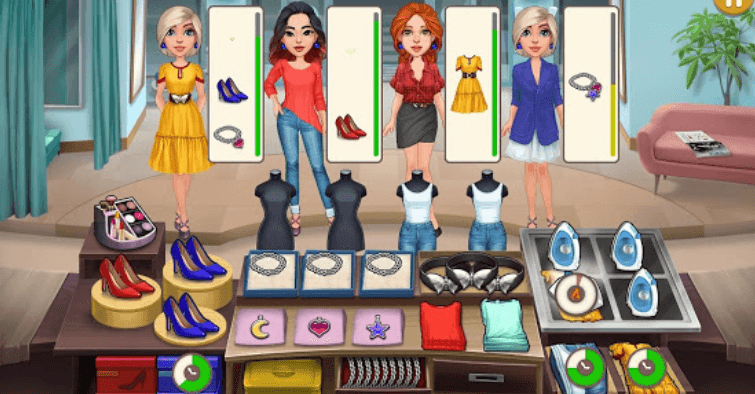 Dress up fever - Fashion show читы
