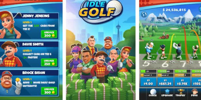 Idle Golf hack