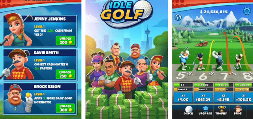 Idle Golf hack