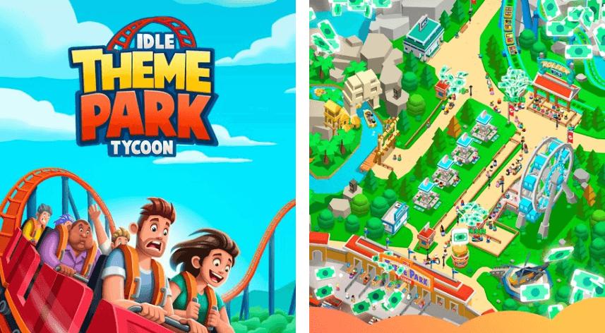 Idle Theme Park Tycoon взлом