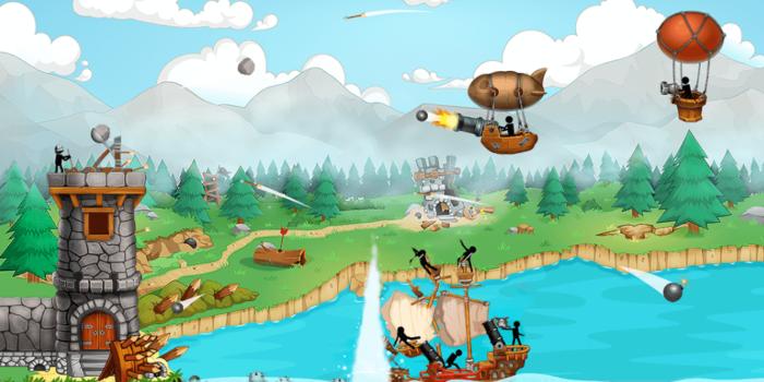 Катапульта: Атака пиратов взлом