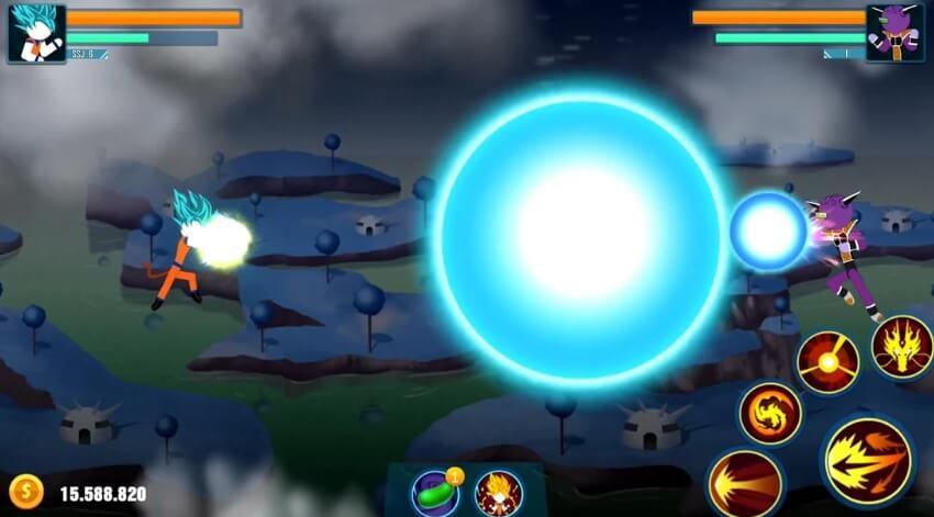 Stick Z: Super Dragon Fight читы