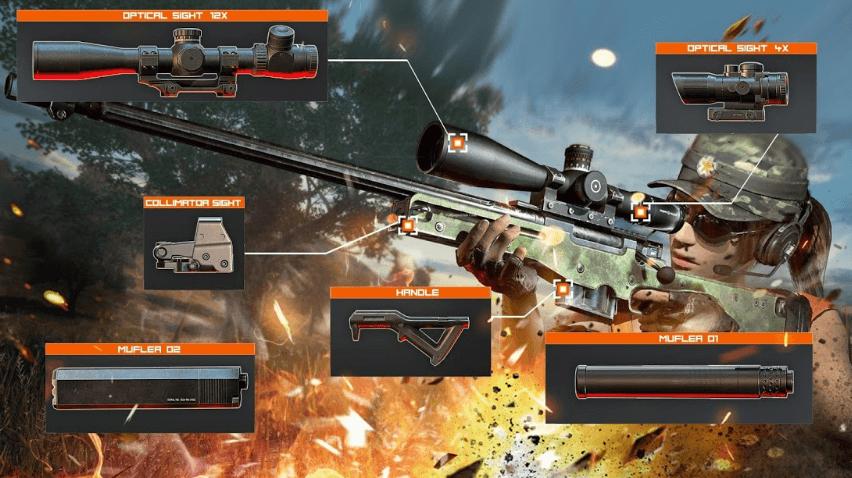 3D Снайперский экшн читы