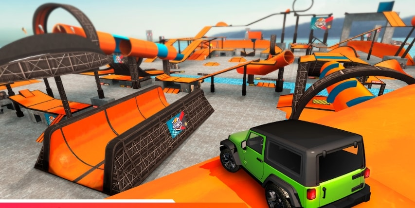 Car Stunt Races: Mega Ramps коды