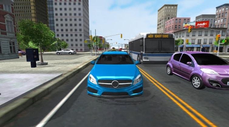 City Driving 3D взлом