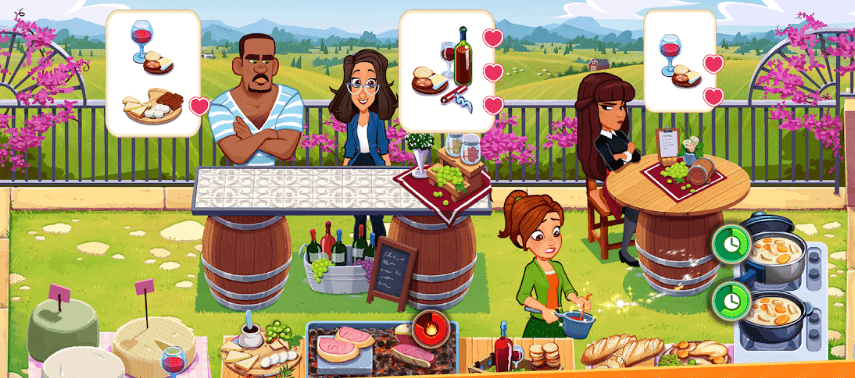 Delicious World Cooking Game секреты