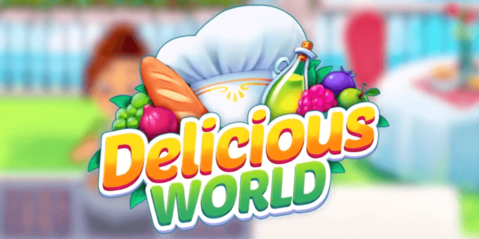 Delicious World Cooking Game взлом