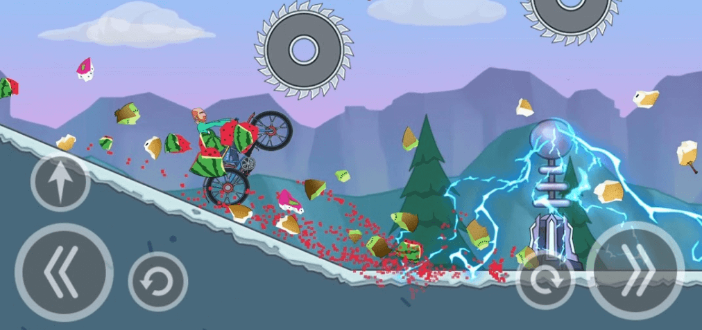 Hill Dismount - Smash the Fruits коды