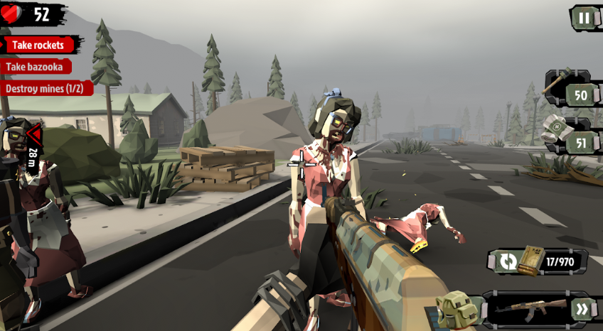The Walking Zombie 2: Zombie shooter коды