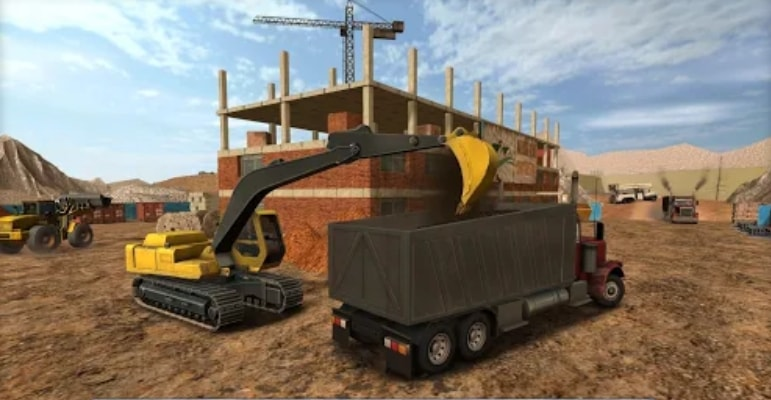 Construction Sim 2017 читы