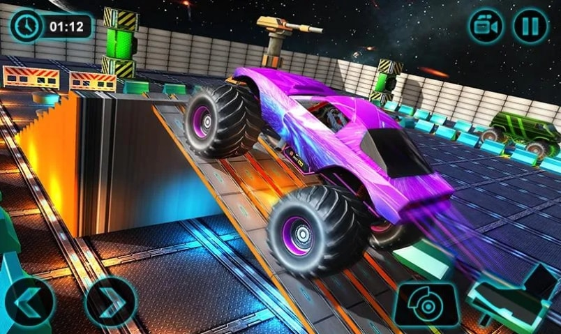 Fury Monster Truck коды