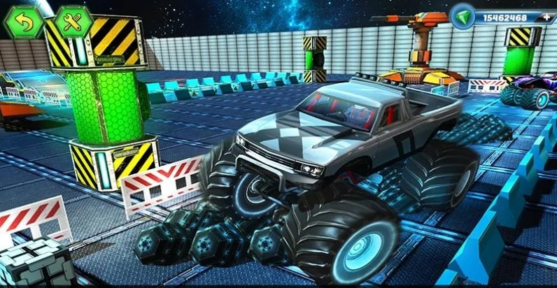 Fury Monster Truck взлом