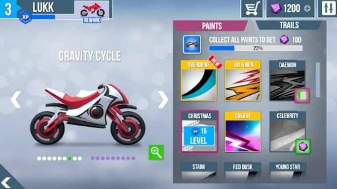 Gravity Rider Zero читы