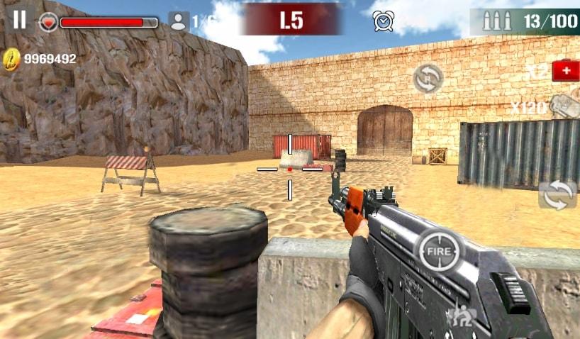 Sniper Shoot Fire War коды