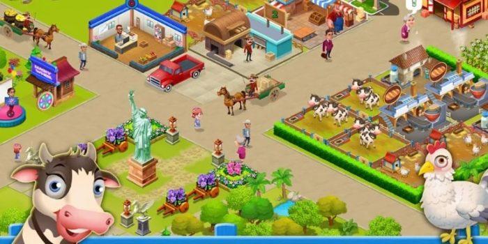 Supermarket City : Farming game мод