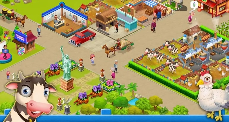 Supermarket City : Farming game мод