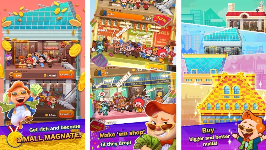 Tap Tap Plaza - Mall Tycoon читы