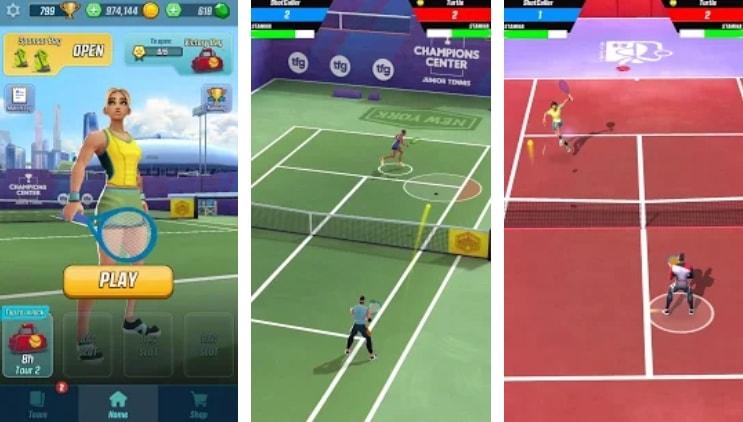 Tennis Clash коды