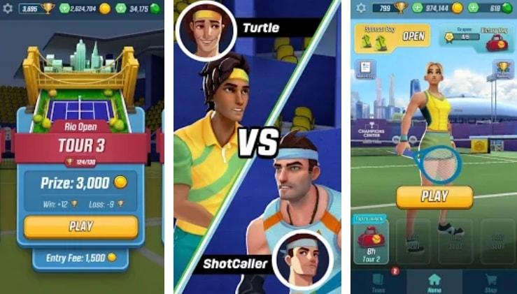 Tennis Clash взлом