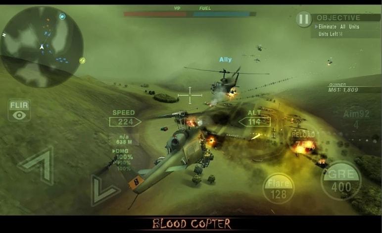 BLOOD COPTER взлом