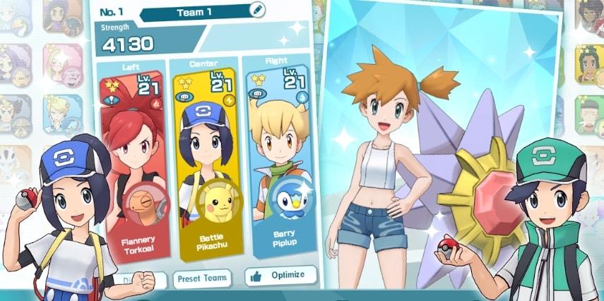 Pokemon Masters коды