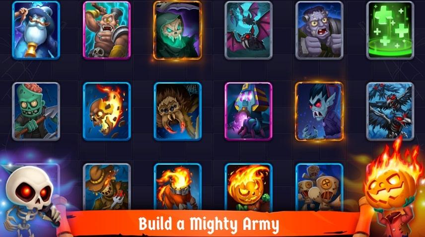 Spooky Wars коды
