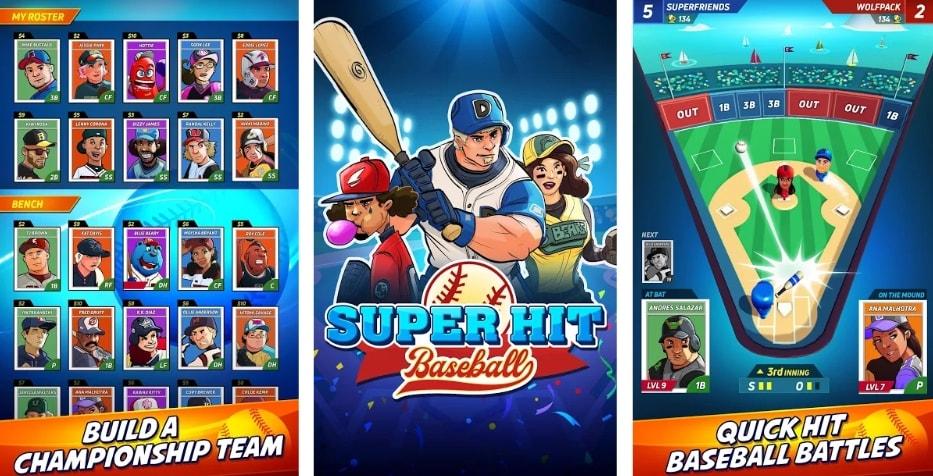Super Hit Baseball взлом