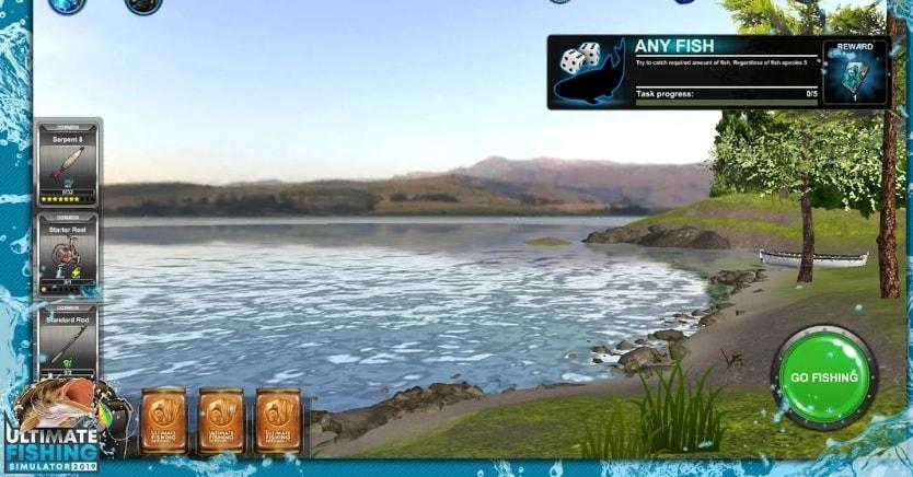 Ultimate Fishing Simulator PRO  коды