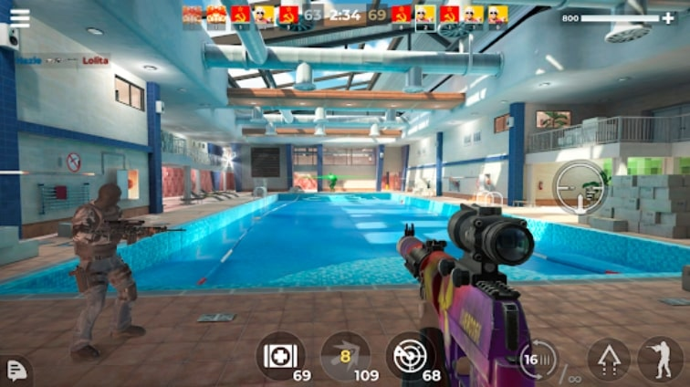 AWP MODE: Sniper 3D Online коды