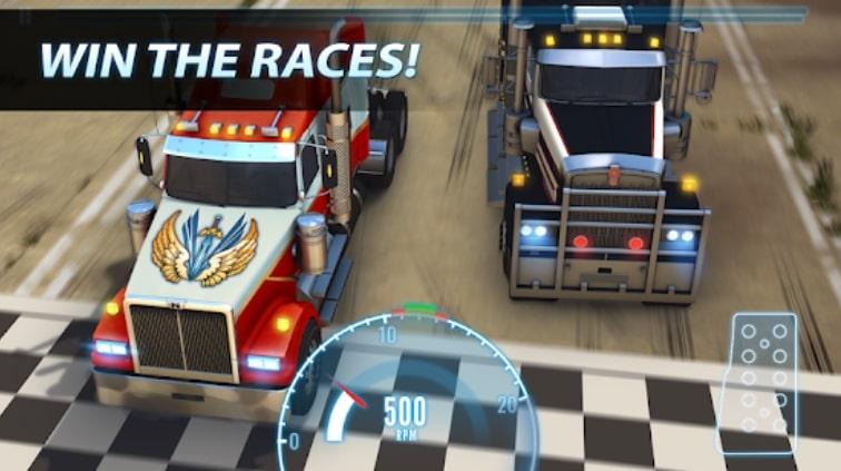 Big Truck Drag Racing коды