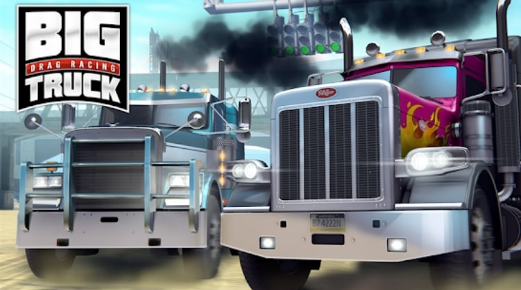 Big Truck Drag Racing взлом