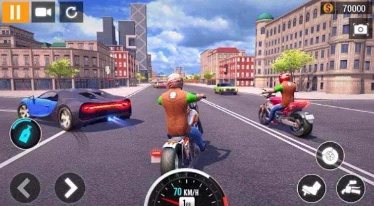 City Motorbike Racing читы