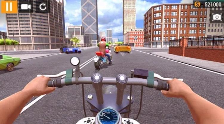 City Motorbike Racing взлом