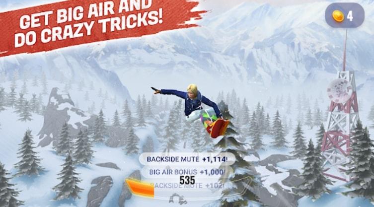 Peak Rider Snowboarding читы