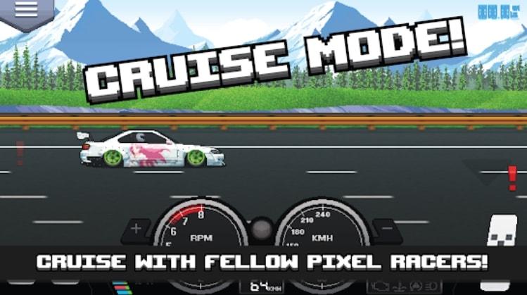 Pixel Car Racer читы