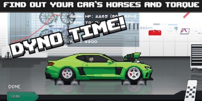 Pixel Car Racer взлом